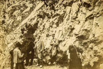 UN ALTO EN EL CAMINO A TRESVISO 1894