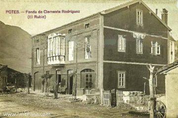 """FONDA DE CLEMENTE RODRIGUEZ """"EL RUBIO"""" EN POTES"""