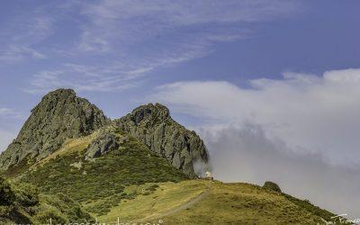 MAR DE NUBES EN EL PUERTO DE SAN GLORIO